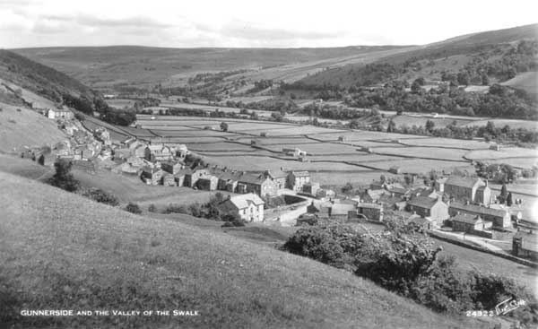 Gunnerside and the Valley of the Swale Postcard ©Walter Scott