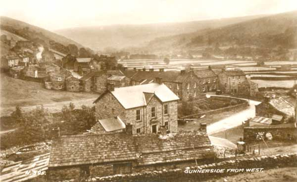 Gunnerside from West © Jacksons, Silver St, Reeth