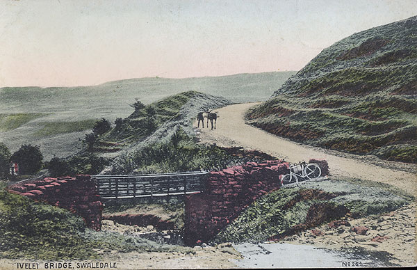 Ivelet Bridge 1904 postcard courtesy of Clive Torrens
