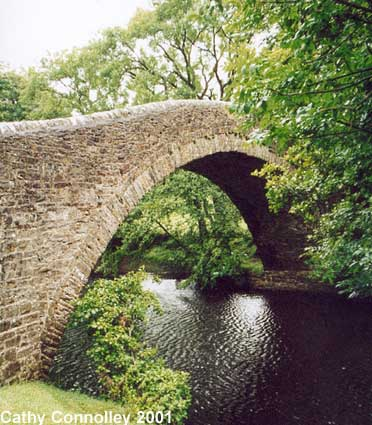 Ivelet Bridge Side View ©Cathy Connolley 2001