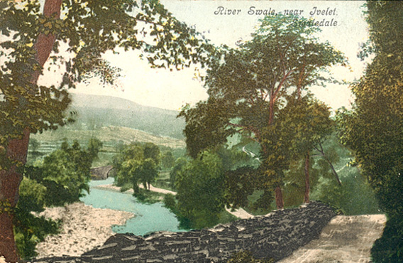 River Swale near Ivelet postcard