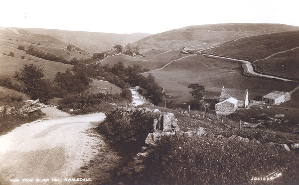 View from Silver Hill Keld postcard 2 courtesy of Clive Torrens