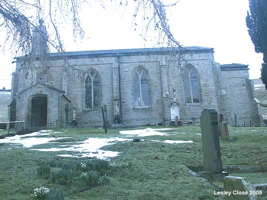 Melbecks Parish Church Low Row  ©Lesley Close 2005