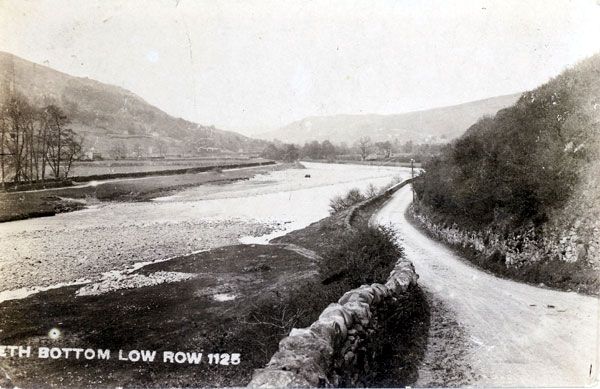 Rowleth Bottom Low Row postcard (courtesy of Clive Torrens)