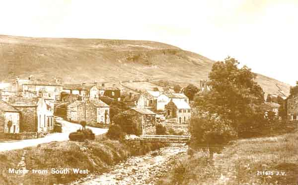 Muker from South West Postcard ©Jacksons of Reeth