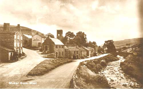 Muker from West Postcard ©Jacksons  of Reeth