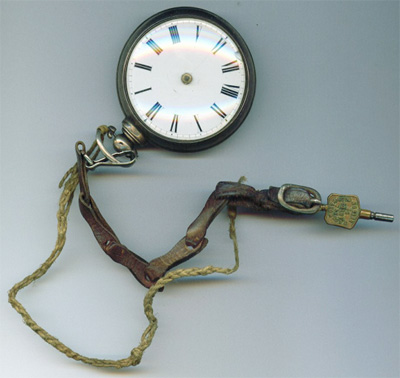 Pocket watch owned by George Buxton's grandfather